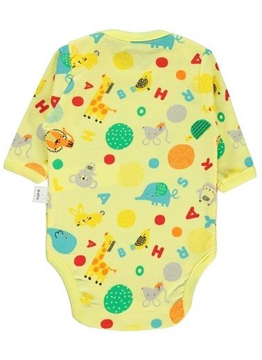 Civil Baby Çıtçıtlı Badi Sarı